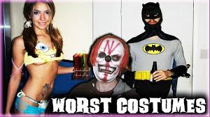 the league halloween costumes worst halloween costumes ever w freddy the clown youtube