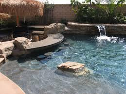 Pool In Backyard by Swimming Pool In Rancho Cucamonga Ca Splash
