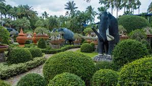 Nong Nooch Tropical Botanical Garden by Nooch Tropical Garden Pattaya Floating Market Sanctury Of The