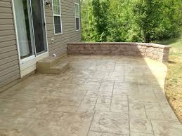 Stamped Concrete Patio Maintenance Stamped Concrete Patios Cole Concrete Maryland