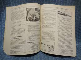 1960 edsel original oem shop maintenance manual ranger villager