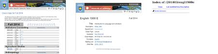 U Of L Help Desk Managing Class Webpages And Mailing Lists At The University Of