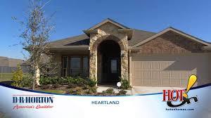 Dr Horton Floor Plans Texas D R Horton At Heartland New Homes In Forney Tx Youtube