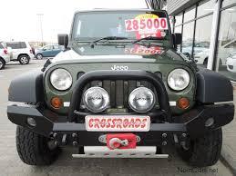 jeep wrangler namibia used jeep wrangler unlimited 3 8i v6 rubicon 4x4 2009 wrangler