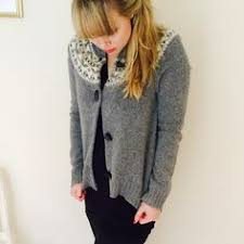 sleeping on snow cropped cardigan rare piazza lucca cropped