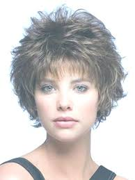 haircuts with description short curly layered haircuts with bangs curly mixed layered short