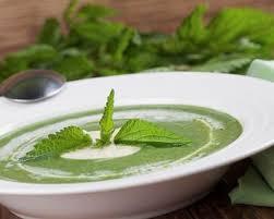 ortie cuisine recette soupe aux orties