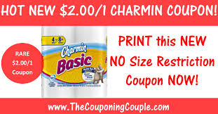 charmin toilet paper printable coupon 2 1 no size restrictions
