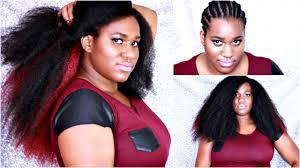 vienna marley hair tutorial natural crochet braids hair invisible part marley hair
