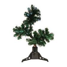 fiber optic poinsettia tree
