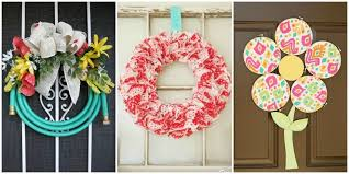 Unique Door Decoration For Christmas by Unique Diy Wreaths Unexpected Wreath Crafts