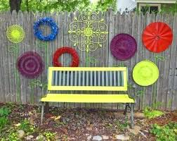 Backyard Fence Decorating Ideas Backyard Fence Decoration Get Creative With These Fence Decorating