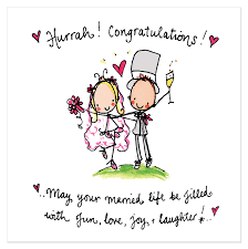 wedding greetings hurrah congratulations may your married and poem
