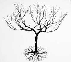 black large jewelry tree stand wire tree sculpture