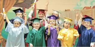 kindergarten cap and gown children graduation gowns high quality pretty children s