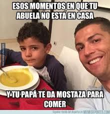 Memes De Cristiano Ronaldo - el meme de cristiano ronaldo y su hijo revista estadio