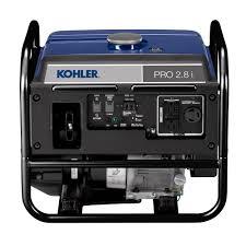 kohler 2 800 watt gasoline powered portable inverter generator pa