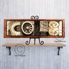Letter Shelf Name Sign Letter Art Alphabet Rustic Wood Custom Personalized Gift