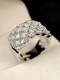 model cincin diamond gambar 30 model cincin kawin emas putih berlian titanium cocok
