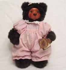wooden faced teddy bears robert raikes bears playtime cookie wooden brown teddy
