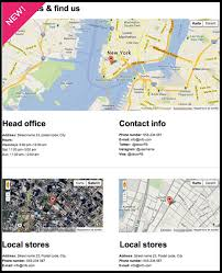 how to add map on contact us page thread reader 100