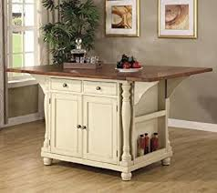 cherry kitchen islands coaster large scale kitchen island in a buttermilk and