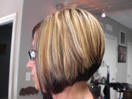 blonde bobbed hair with dark underneath short bob hairstyle dark on bottom light on top foiled blonde on