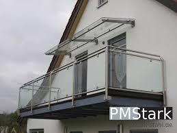 balkon vordach stark edelstahlvordächer edelstahlcarports edelstahlüberdachungen