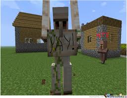 Funny Villager Memes - normal day in a minecraft villager by jigsaw171 meme center