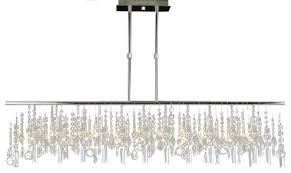 Modern Crystal Chandeliers Modern Contemporary Broadway Linear Crystal Chandelier Lamp