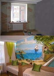 Best Kid Room Wall Murals Images On Pinterest Kids Rooms - Bedroom wall mural ideas