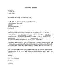 cover letter referral format