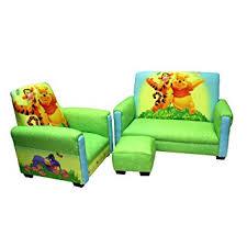 sofa chair and ottoman set amazon com disney deluxe sofa chair and ottoman set