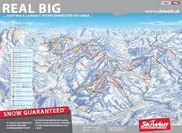 Map Of Colorado Ski Areas by Skiwelt Austria Piste Map U2013 Free Downloadable Piste Maps