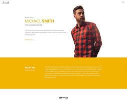 Html Resume Templates Resume Website Template Programmer Resume Template Top 10 Free