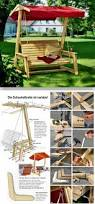 Titanic Deck Chair Plans Free by Diy Garden Swing Outdoor Furniture Plans And Projects