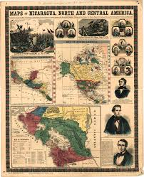 Map Of North America And Central America by Maps Of Nicaragua North And Central America Population And