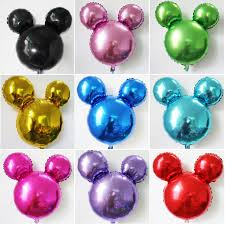 halloween foil balloons new mickey head balloons 18 inch solid gold mickey mouse head