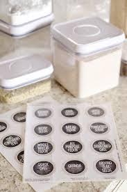Kitchen Pantry Organization by Kitchen Pantry Organization Free Printable Labels