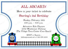 tips thomas the train birthday invitations with cute color best