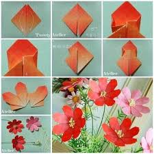 cool paper crafts how to make cool paper flowers webwoud