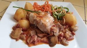 cuisiner le lapin en sauce lapin sauce chasseur au thermomix cookomix