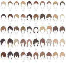 boys hairstyle guide anime hairstyle reference guide for your next haircut otakusmash