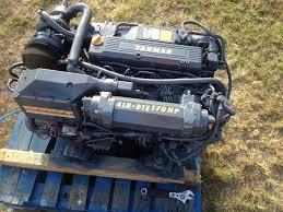 yanmar diesel marine engines pair of 4lh dte 170 hp 100 rebuilt w