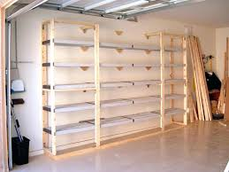 Storage Shelf Wood Plans by Garage Storage Ideasgarage Woodworking Plans Shop Organization