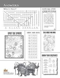 english worksheet movie spiderwick chronicles keys
