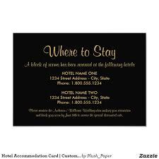 Death Anniversary Invitation Card Hotel Accommodation Card Black Chalkboard Charm Rustic Wedding