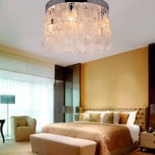 flush mount bedroom lighting with lightinthebox modern white shell