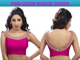 blouse back neck design for stylish