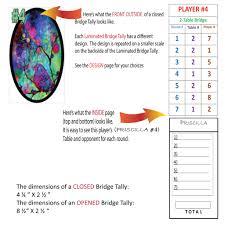 two table progressive tally what is a bridge tally great bridge links